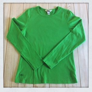 Lilly Pulitzer Long Sleeve Cotton Tee